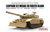 Glow2B 5930214 Leopard C2 Mexas w/ Dozer Blade