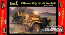 Glow2B 6357208 German Sd.Kfz.10/4 w/20mm Flak 30