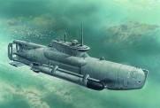 Glow2B S.007 U-Boat Type XXVIIB 'Seehund'