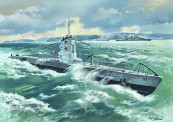 Glow2B S.009 WWII deusches U-Boot Typ IIB 1939