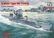 Glow2B S.010 U-Boot Type IIB, Ausführung 1943