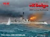 Glow2B S.014 König WWI German Battleship