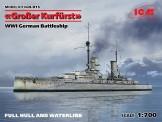 Glow2B S.015 Großer Kurfürst WWI German Battleship