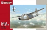 Glow2B SH72192 Heinkel He 178 V-2 Re-issue