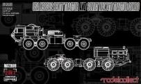 Modelcollect MA72009 M983A2 HEMTT Tractor +Soviet MAZ 7410