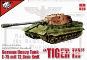 Modelcollect UA35012 German Heavy Tank 'Tiger III' E-75