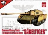 Modelcollect UA35019 'Säbelzahntiger' E-60 Ausf.B 12.8cm Kwk