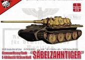 Modelcollect UA35020 'Säbelzahntiger' E-60 Ausf.A 10.5cm Kwk