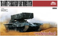 Modelcollect UA72009 TOS-1A with T-72 Chassis