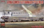 Modelcollect UA72043 Schwerer plattformwagen type ssyms 80