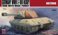 Modelcollect UA72068 E-100 Heavy Tank with Mouse turret