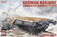 Modelcollect UA72086 Schwerer Plattformwagen Type ssys