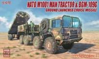 Modelcollect UA72096 NATO M1001 MAN Tractor & BGM-109G