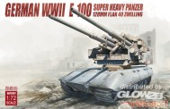 Modelcollect UA72097 German WWII E-100 super heavy panzer
