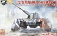 Modelcollect UA72115 Fist of War German WWII E75