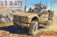 Modelcollect UA72122 U.S. M-ATV MRAP All-Terrain Vehicle