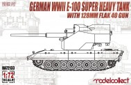 Modelcollect UA72133 German WWII E-100 super heavy Tank