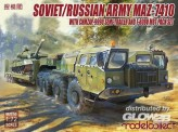Modelcollect UA72153 Soviet/Russian Army MAZ-7410 with ChMZAP