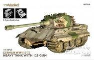 Modelcollect UA72168 German WWII E-75 heavy tank