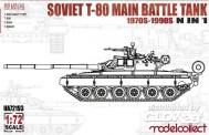 Modelcollect UA72193 Soviet T-80 Main Battle Tank