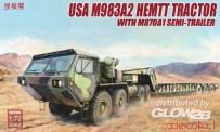 Modelcollect US72083 USA M983A2 HEMTT Tractor & M870A1