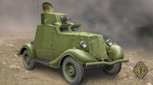 ACE 48107 FAI-M Soviet light armored car