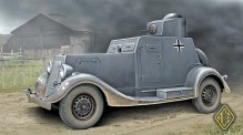ACE 48108 BA-20 light armored car, early prod.