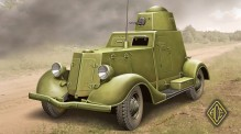 ACE 48109 BA-20 light armored car, late prod.