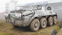 ACE 72166 BTR-70 Soviet armored personnel carrier