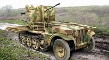 ACE 72286 2cm Flak 38 sfl SDKFZ.10/4