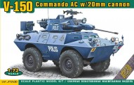 ACE 72430 V-150 Commando AC w/20mm Cannon