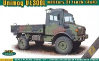 ACE 72450 UNIMOG U1300L military 2t truck (4x4)