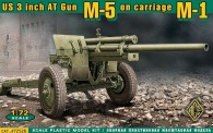 ACE 72528 US 3inch anti-tank gun M-5 on carriage