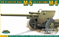 ACE 72531 US 3 inch AT Gun M5 on carriage M6