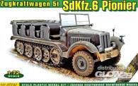 ACE 72567 Sd.Kfz.6 Pionier Zugkraftwagen 5t