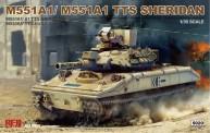 Rye Field Model RM-5020 M551A1/M551A1 TTS Sheridan