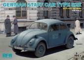 Rye Field Model RM-5023 German Staff Car Type 82E full interior