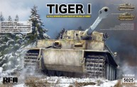 Rye Field Model RM-5025 Tiger I Early Production Wittmann
