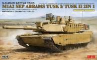 Rye Field Model RM-5026 M1A2 SEP Abrams TUSK I /TUSK II w/full