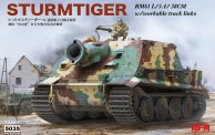 Rye Field Model RM-5035 Sturmtiger w/workable track links