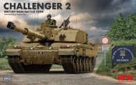 Rye Field Model RM-5062 Challenger 2 - British Main Battle Tank