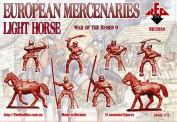 Red Box RB72054 European mercenaries (light horse)