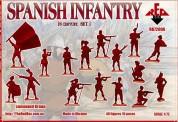 Red Box RB72096 Spanish Infantry. Set 1. 16 centry