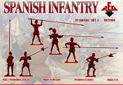 Red Box RB72098 Spanish Infantry (Pike). Set 3. 16 centr