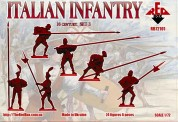 Red Box RB72101 Italian Infantry (Pike) . Set 3. 16 cent