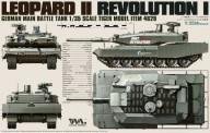Tiger Model TG-4629 Leopard II Revolution I - Tiger Model