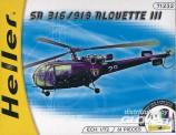 Heller 50225 SA 316/319 Alouette III