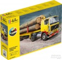 Heller 57704 VOLVO F12-20 & Timber Semi Trailer