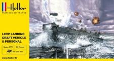 Heller 79995 LCVP Landing Craft / Landungsboot