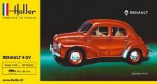 Heller 80174 Renault 4CV (Cremeschmittchen)